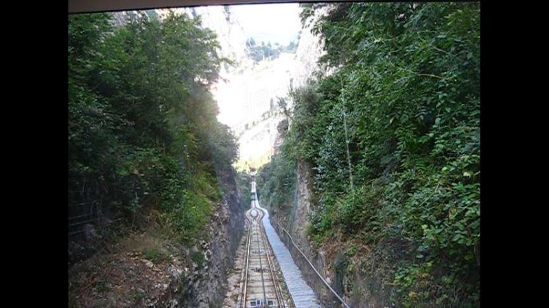 железная дорога на горе Монтсеррат