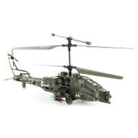 Радиоуправляемый вертолет Syma Apache Military S009G с гироскопом.