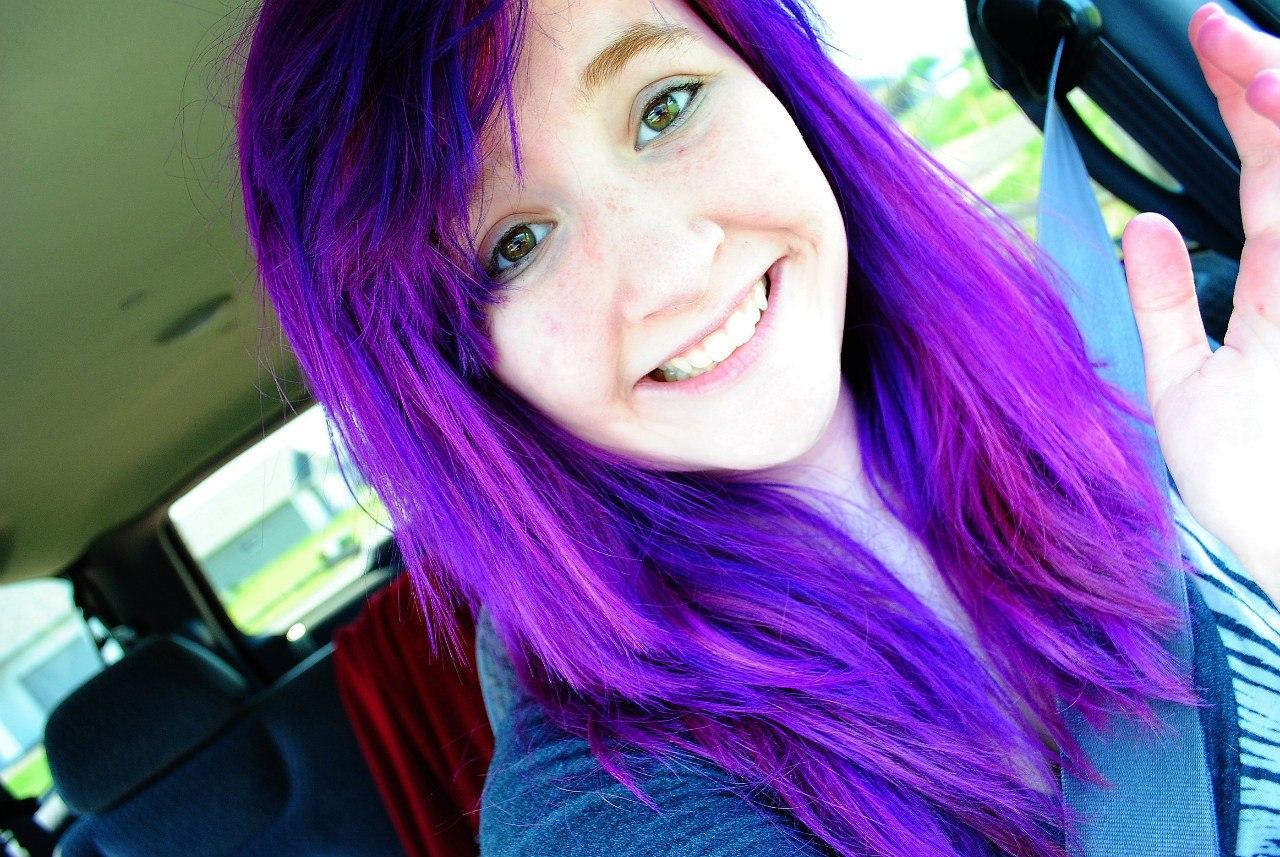 Цвет smoke для волос