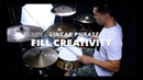 Simple Linear Phrasing for Fill Creativity- Drum Lesson with Eric Fisher