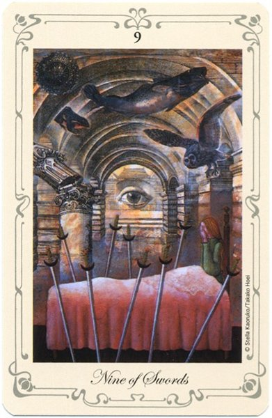 толкование карты девятка мечей таро