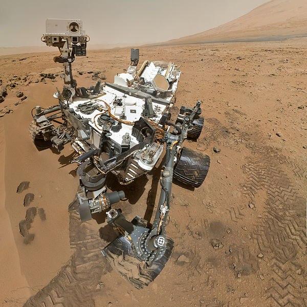 Curiosity на Марсі
