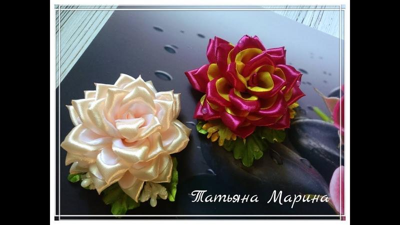 МК Роза с двухцветным лепестком🌹🌹🌹/rosa bicolor/ bicolour rose