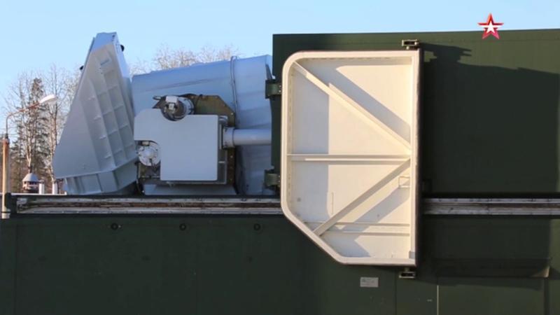 Минобороны РФ показали военный лазер Пересвет