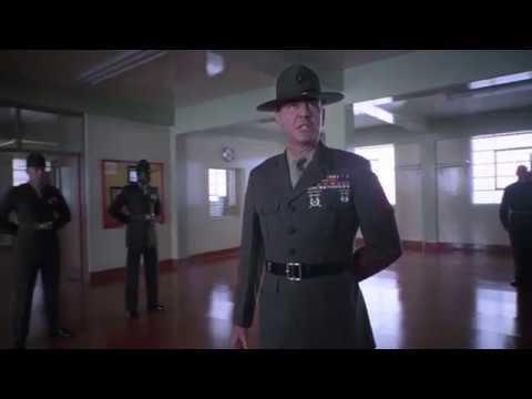 Цельнометаллическая оболочка Full Metal Jacket сержант Хартман ч 1