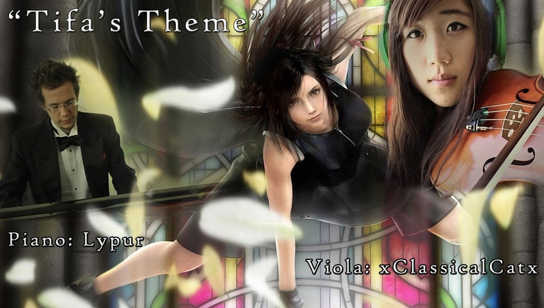 Tifa's Theme (from Final Fantasy VII, Piano Viola)