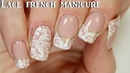 190 ~Lace french manicure Yours cosmetics stamping plate Dutchnailss ~