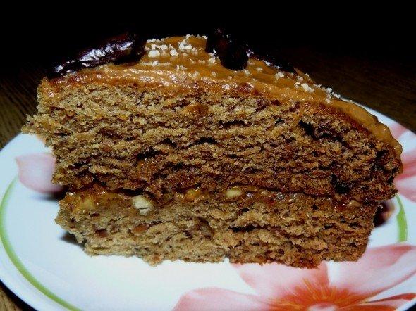 Торт из фиников рецепт