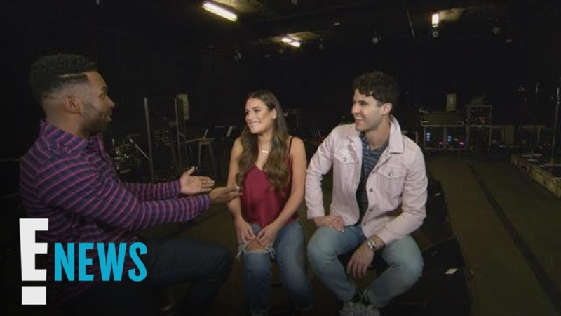 Sneak Peek Lea Michele Darren Criss Interview | E! News