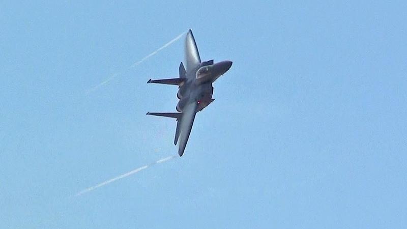 🇺🇸 Great F-15 Strike Eagle Display England.