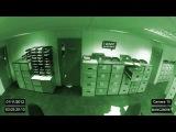 Настоящий  полтергейст на камеру наблюдения! Жуть! Смотреть до конца!