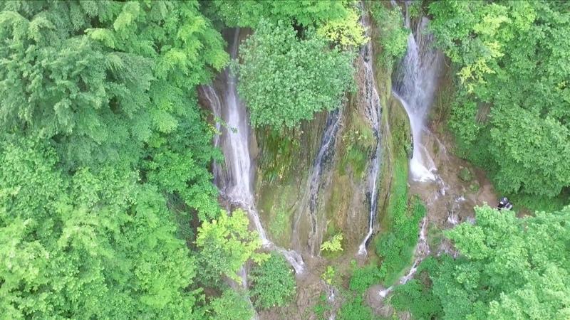 Az Algyógyi vízesés, Cascada Clocota