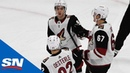 Arizona Coyotes Finally Score First 5-on-5 Goal In Their Sixth Game Of Season