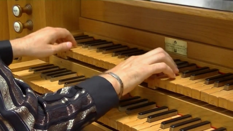 675 J.S. Bach - Chorale prelude Allein Gott in der Höh sei Ehr, BWV 675 - Massimo Pinarello