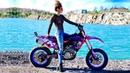 Saaraazh SUPERMOTO TAKEOVER MOTOGIRL