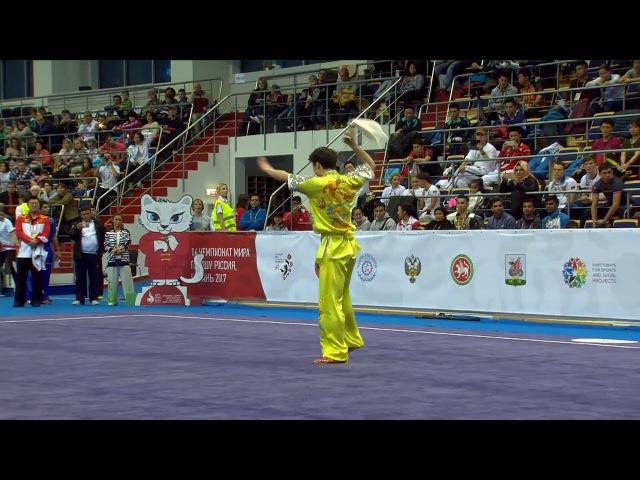 [14th WWC] Men's Daoshu - Zhifeng Li -= 1st =- 9.72 [CHN]