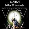 MIYAVI | 21 марта | Краснодар | ARENA HALL |