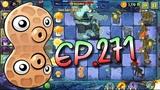Plants vs. Zombies 2 Pea-Nut, Sun Bean and Fume-shroom - Dark Ages Night 9 (Ep.271)