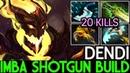 Dendi [Shadow Fiend] Imba ShotGun Build 20 Kills 7.17 Dota 2