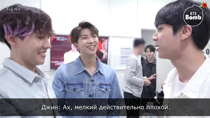[RUS SUB][Рус.саб] [BANGTAN BOMB] '아미밤(ARMY BOMB)' acrostic poem! - BTS (방탄소년단)