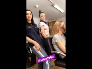 Instagram stories mila_sivatskaya