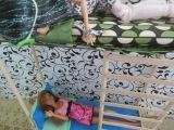 Как сделать двухъярусную кровать куклы и матрас