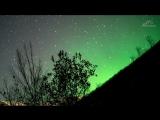 Aurora borealis   Полярное сияние Апатиты, Кировск
