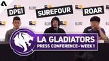 Пресс-конференция с LA Gladiators Overwatch League Season 2 Stage 1 Week 1