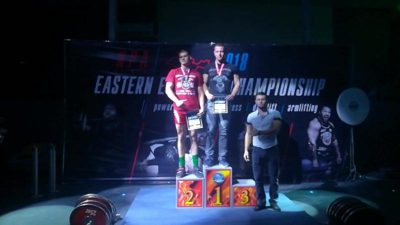 Николай Балюк 1 место среди юниоров про в категории до 100кг