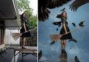 Филиппинская художница из фотографий своего заднего двора создает сказочные миры…