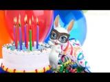 [v-s.mobi]Zoobe Зайка С днём рождения, подруга! Зажигательное поздравление.mp4