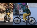 Jesienny Szpak mknie po mieście na rowerze za 2 tysiące