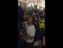 Бразильцы провожают Месси