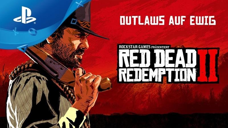 Red Dead Redemption 2 - Launch Trailer [PS4, deutsch]
