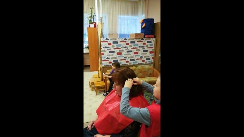 Парикмахерская в детском саду