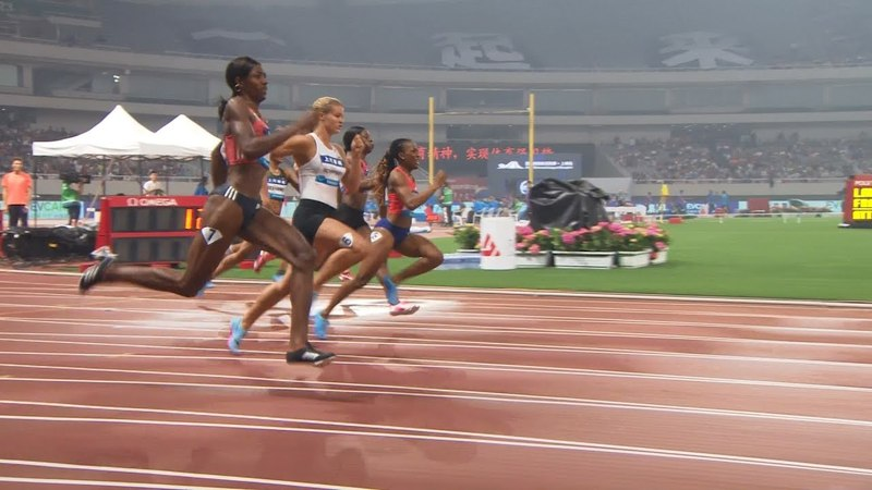 Women's 200m - Shanghai Diamond League 2018 [1080p 50fps]
