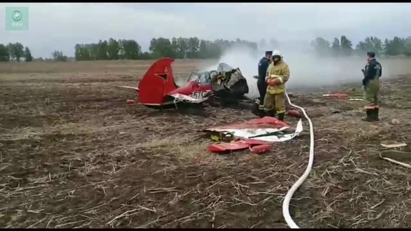 Самолет Як-52 разбился на Алтае