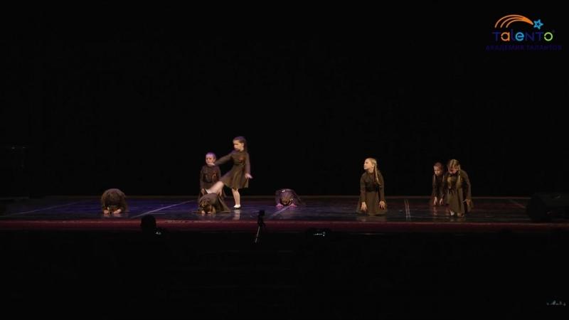 """Шоу к празднику 9 мая - маленькие таланты школы """"Таленто"""""""