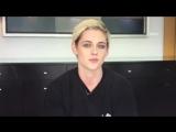 Kristen Stewart video message at the Twilight 10th Anniversary Panel