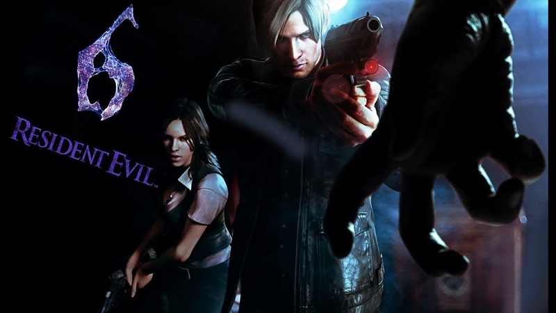 Resident Evil 6 Все Битвы с Боссами (Леон и Элена)