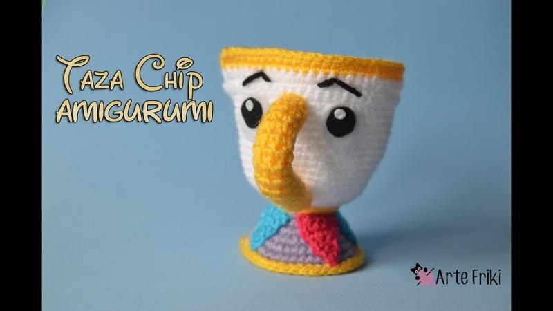Taza Chip Amigurumi [PARTE 2]