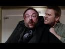 Люцифер избивает Кроули Сверхъестественное 11 сезон 18 серия