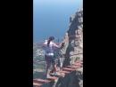 Мост между зубцами горы Ай Петри