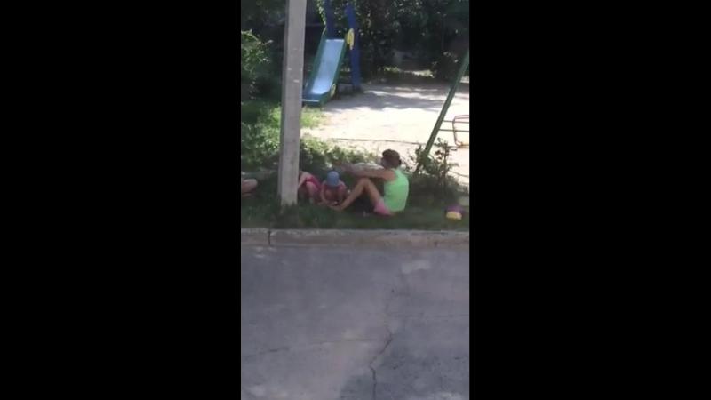 Обычный такой отдвх под окнами в Ульяновске