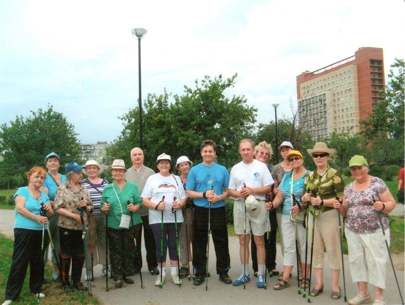 Это наша группа, занимающаяся в парке по адресу Турку 20