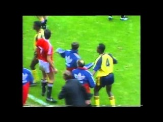 АПД 1990-91. 9 тур. МЮ - Арсенал 0-1