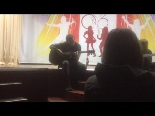 Батарейка-лагерь Лазурный,,вечер песни под гитару