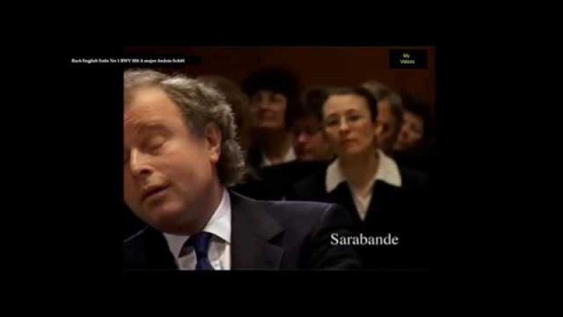 Баx 6 Англ. сюит А. Шифф. Bach the 6 English Suites András Schiff [HD]