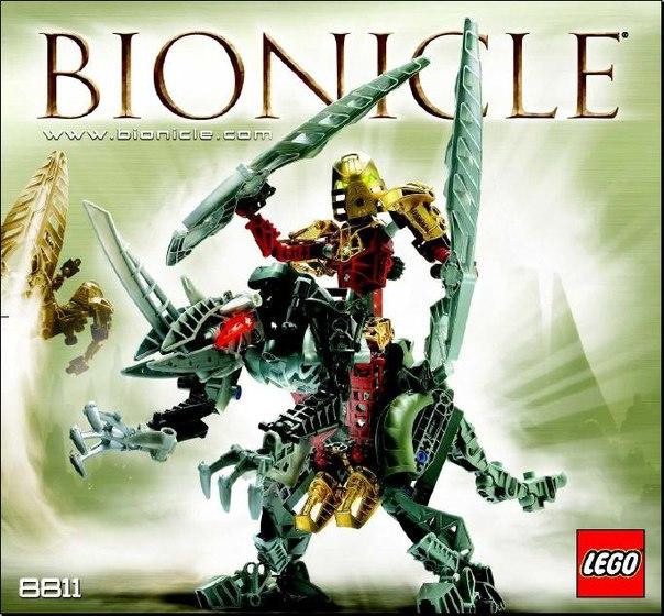 Лего бионикл схема по