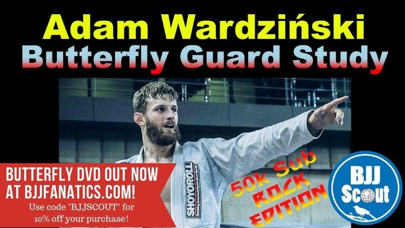 BJJ Scout: Adam Wardziński Butterfly Guard Study Part 1 bjj scout: adam wardziński butterfly guard study part 1 bjj scout: ada